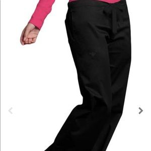 Med couture black scrub pants